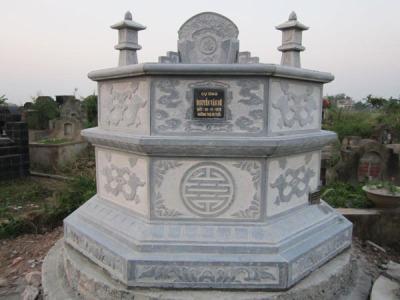 Mộ đá hình bát giác 001, cách chọn mộ đá phù hợp
