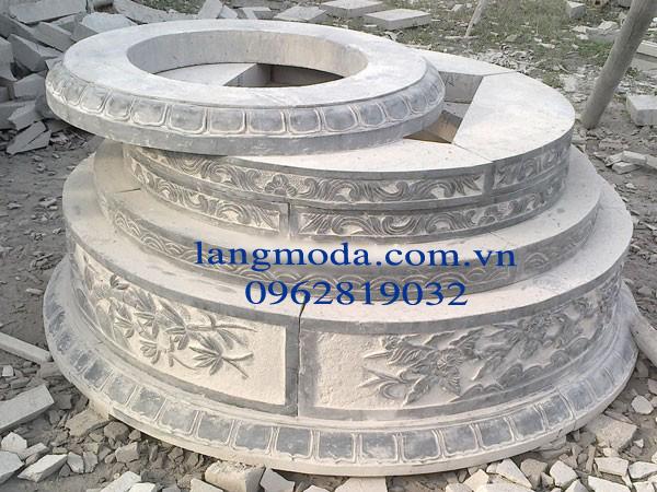 Mộ đá hình tròn 002, mộ đá, cách chọn mộ đá phù hợp