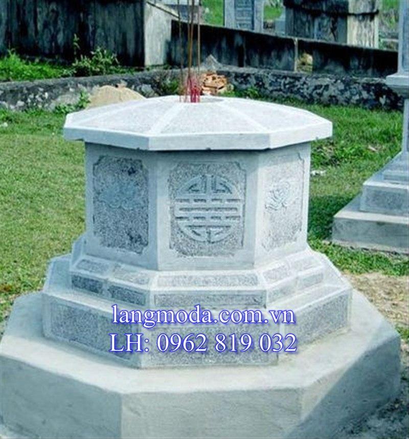 Mộ đá hình bát giác, mộ đá bát giác, mộ đá