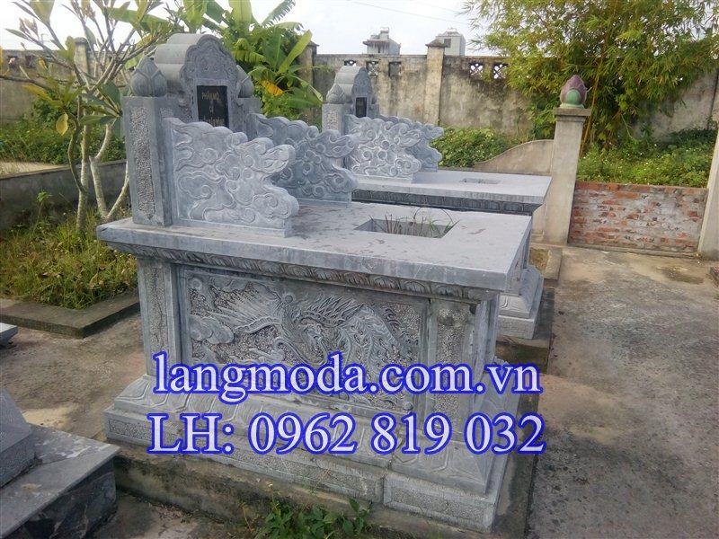 mộ đá hậu bnahf, mộ đá