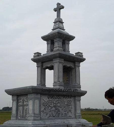 Mộ đá công giáo 0003, mộ đá đẹp, mộ đá ninh bình