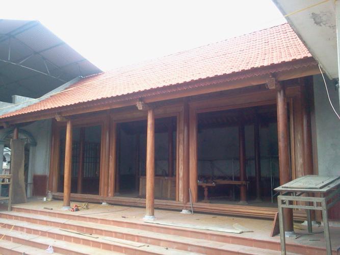 Nhà gỗ dùng chân tảng bệt