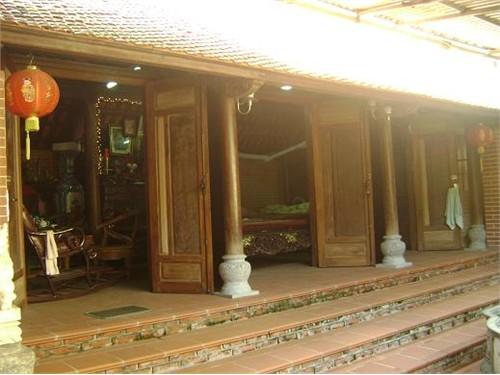 Nhà gỗ dùng chân tảng bồng
