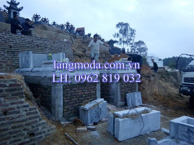xây dựng mộ đá, lắp ghép mộ đá, lắp đặt mộ đá, xây mộ đá tại Thái Nguyên