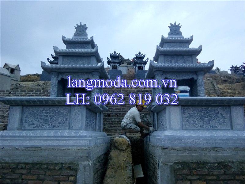 Lăng mộ đá tại huyện Phổ Yên, tỉnh Thái Nguyên. mẫu mộ đá đẹp, mộ đá đẹp nhất, mộ đá xanh thanh hóa, mộ đá ninh bình