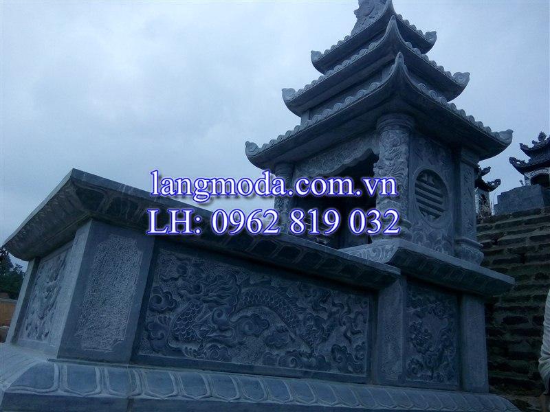Lăng mộ đá tại huyện Phổ Yên, tỉnh Thái Nguyên. mộ đá khổ lớn, mộ đá đôi, mộ đá tại thái nguyên