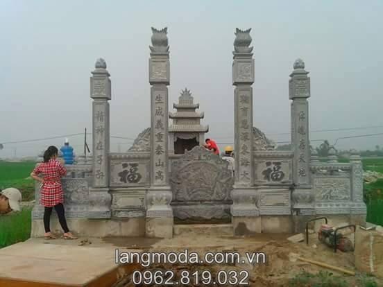 Mẫu mộ xây mới nhất 2015