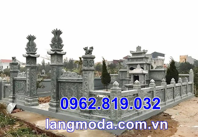 Hình ảnh lăng mộ đẹp bằng đá tại Thái Bình - Lăng mộ bằng đá tại Thái Bình