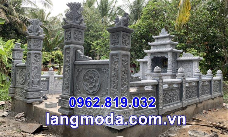 Khu mộ gia đình bằng đá tại Thái Bình - Lăng mộ gia đình tại Thái Bình