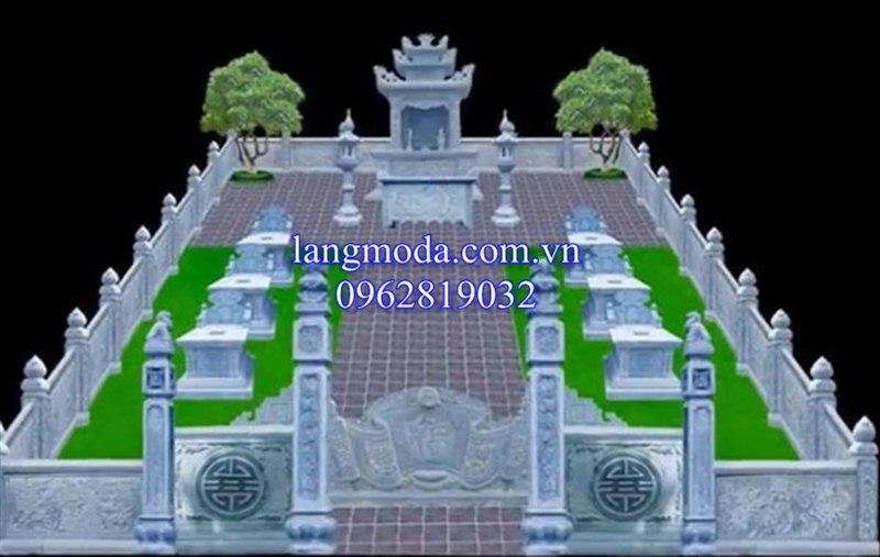 mẫu thiết kế lăng mộ, thiết kế lăng mộ đá