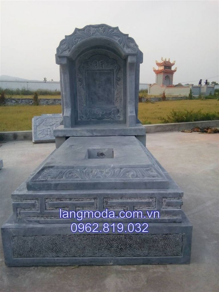 Mẫu mộ đá hiện đại