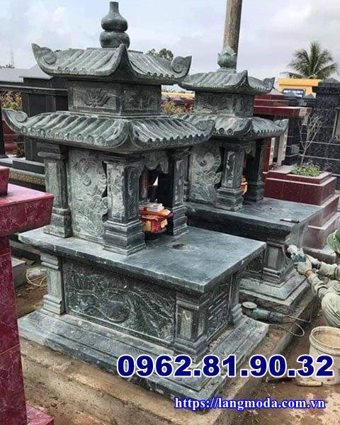 Mẫu mộ đá đẹp xanh rêu Hải Phòng, Mộ đá đẹp Hải Phòng