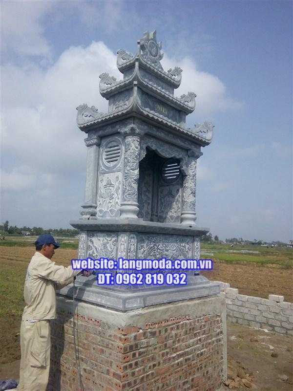 Xây dựng lăng mộ đá tại Hải Phòng