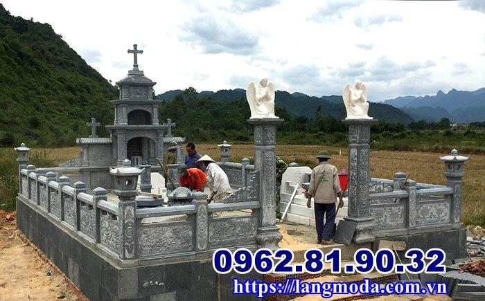 Các mẫu lăng mộ đá công giáo tại Hải Phòng