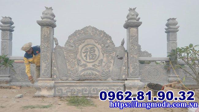 Cuốn thư đá lăng mộ tại Hải Phòng