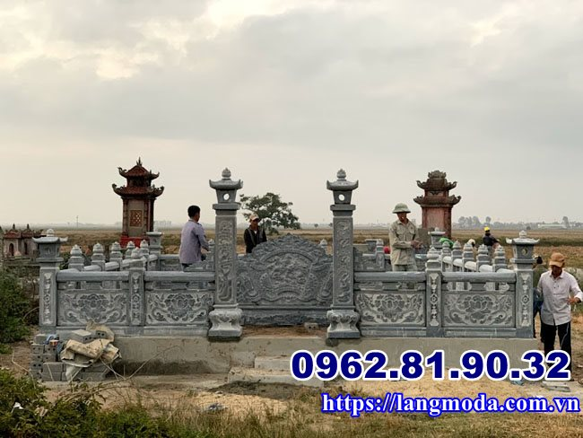 Khu lăng mộ đá tại Vĩnh Bảo Hải Phòng