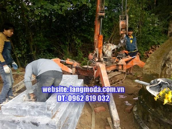 Thiết kế xây dựng mộ đá tại Thường Tín, Hà Nội