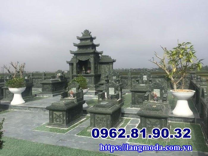Nghĩa trang gia đình đá xanh rêu tại Hải Phòng, Lăng mộ đá Hải Phòng