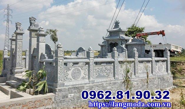 Xây dựng lăng mộ đá tự nhiên tại Hải Phòng
