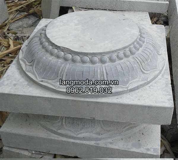 chân tảng đá kê cột đắk lăk
