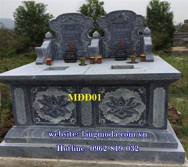Mẫu mộ đôi, mẫu mộ đôi đẹp