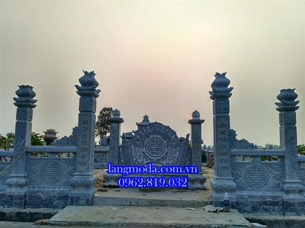 Khu lăng mộ đá đẹp tại Hải Phòng