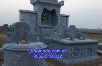 Mộ Đá Tròn , mo da tron, mẫu mộ tròn đẹp