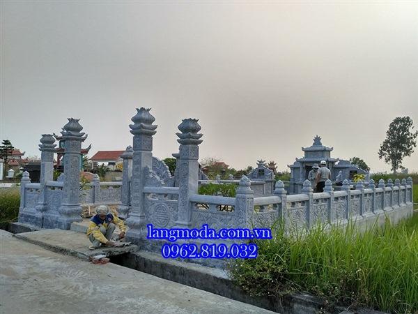 Xây lăng mộ đá tại Kiến Thụy Hải Phòng