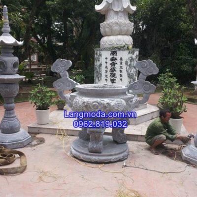 Giá bán mẫu lư hương đá đẹp cung tiến