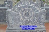 Mẫu bình phong đẹp bằng đá xanh