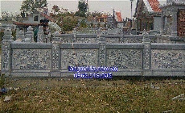 Hàng rào đá , hàng rào đá lăng mộ