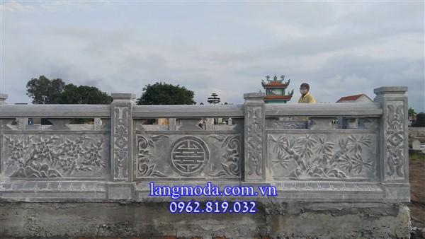 Lan can đá nhà thờ họ từ đường đẹp nhất Việt Nam
