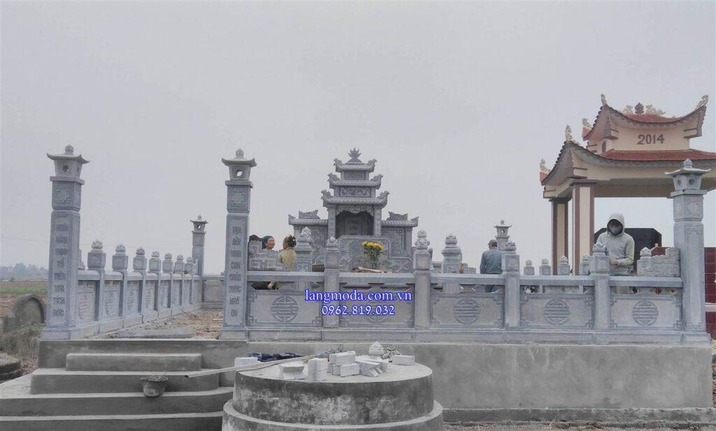 Hình ảnh khu lăng mộ đá đẹp Hưng Yên - Lăng mộ đá tại Hưng Yên