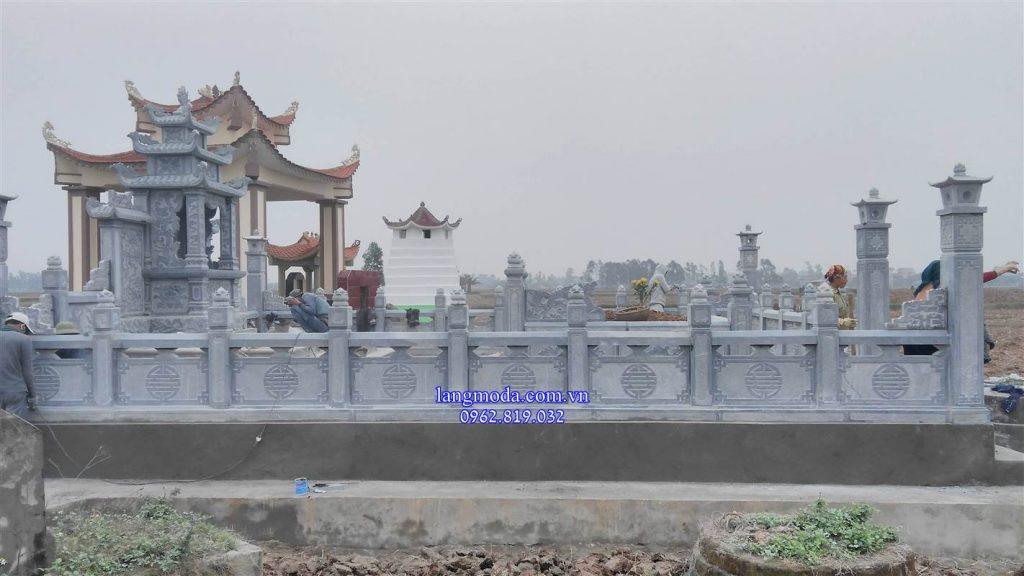 Khu lăng mộ đá đẹp Hưng Yên