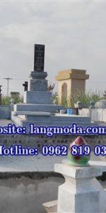 Thiết kế xây dựng lăng mộ đá kiểu Nhật tại Nam Định