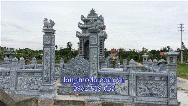 khu lăng mộ đá, khu lăng mộ bằng đá, thiết kế khu lăng mộ đá