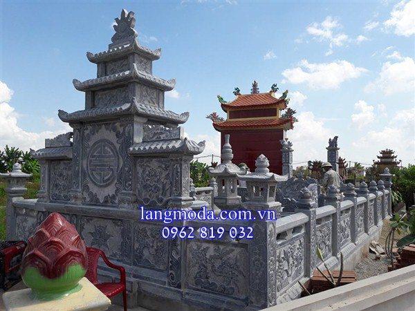 Mẫu lăng mộ đá đẹp chế tác tại Ninh Bình