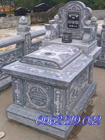 Mẫu mộ đá đơn giản, Mộ đá không mái, mộ không mái mẫu mộ không mái