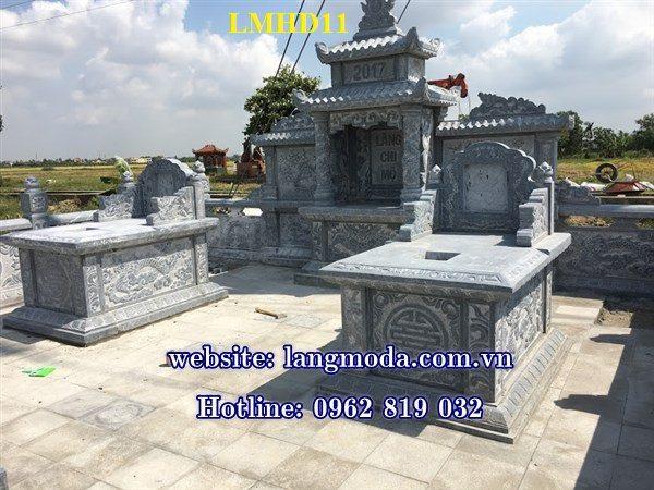 Sản phẩm cần bán: Một số kinh nghiệm làm lăng mộ đá  Lang-mo-da-hai-duong-11