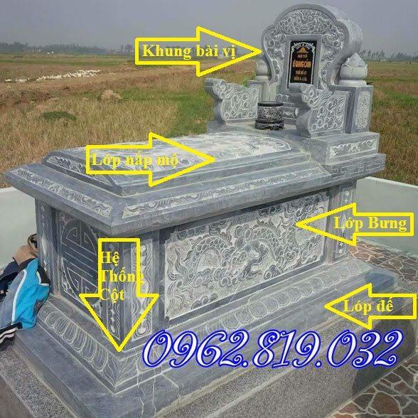 mộ đá không mái, Mộ đá tam cấp, mộ đá tam sơn, Mô đá không mái đơn giản, mẫu mộ đá đơn giản, Mộ đá hậu bành, Mộ không mái , Mẫu mộ đá không mái ,