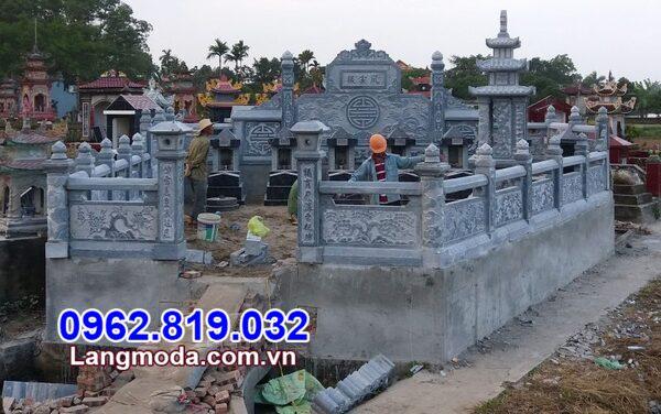 Mẫu lăng mộ đá đẹp nhất - Nghĩa trang gia đình đẹp