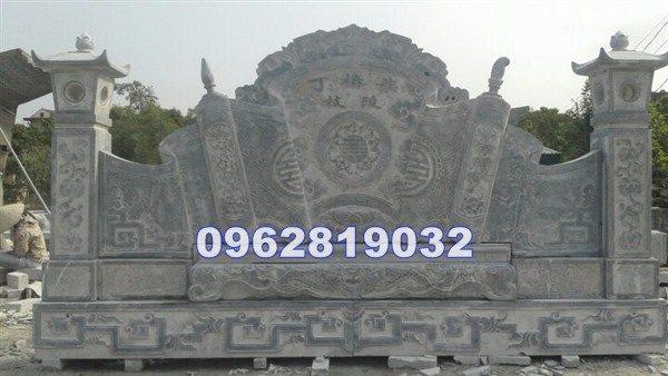 bình phong lăng mộ