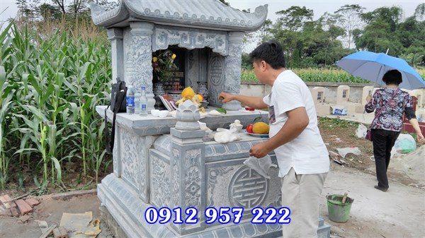 làm lăng mộ đá ở Phú Thọ