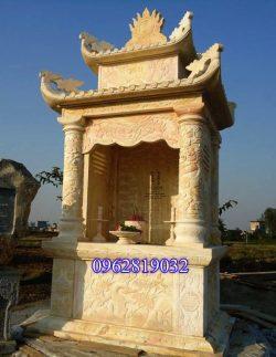 Kích thước lăng thờ chung - Giá Lăng thờ đá đẹp