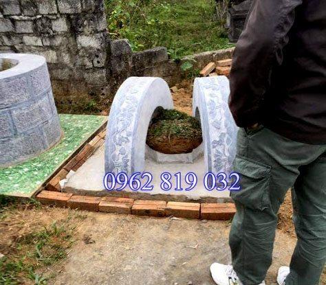 Mẫu mộ tròn đẹp tại thanh hóa