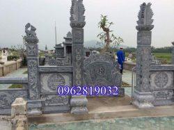 Mẫu cổng đá lăng mộ đẹp - Cổng lăng mộ đẹp - Cổng lăng mộ đá xanh