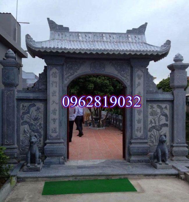 Mẫu cổng tam quan đá, Cổng tam quan nhà thờ họ, cổng tam quan chùa, cổng tam quan nhà thờ họ, cổng tam quan đình chùa ;