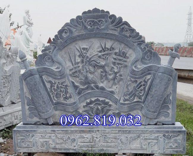 Bình phong đá đình chùa