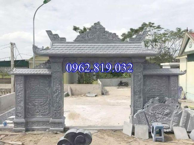 Cổng đá nhà thờ họ, làm nhà thờ họ bằng đá, Cổng nhà thờ họ bằng đá;