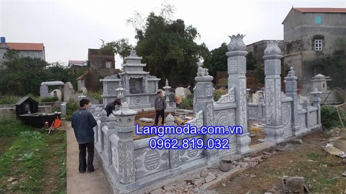 Khu lăng mộ đá, Mẫu lăng mộ đá xanh, Khu lang mộ đá đẹp, ;